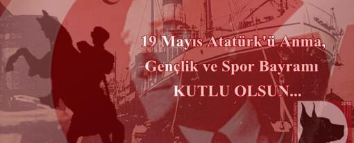 19 Mayıs Gençlik ve Spor Bayramı kutlu olsun!