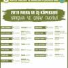 2019 KIF Yarışma Ve Sınav Takvimi